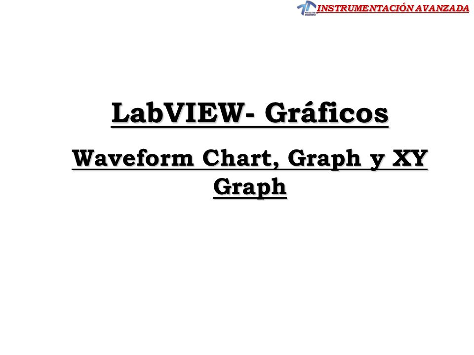 Waveform Chart, Graph y XY Graph