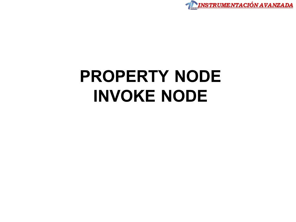 PROPERTY NODE INVOKE NODE