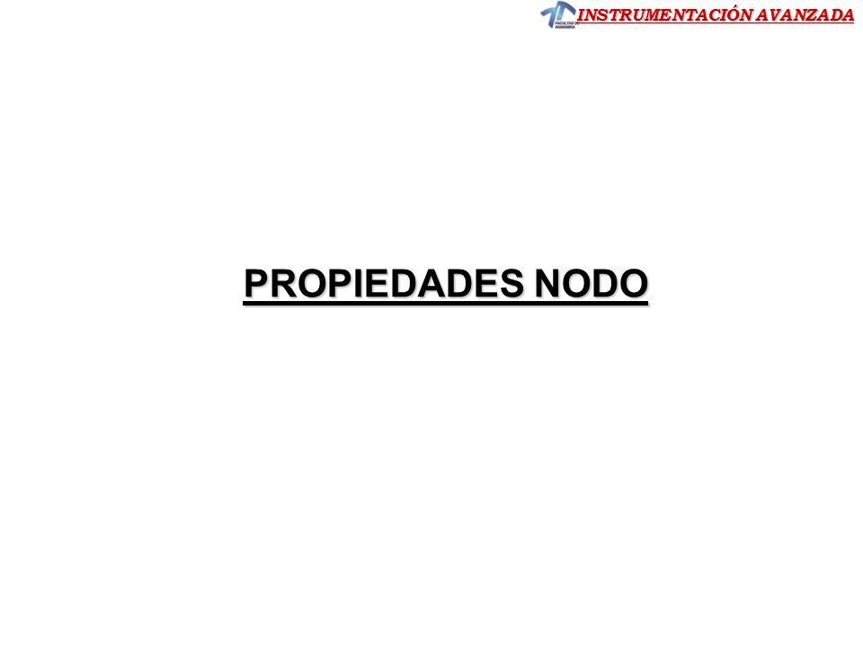 PROPIEDADES NODO