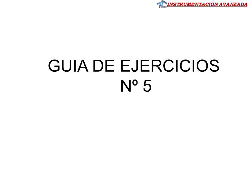 GUIA DE EJERCICIOS Nº 5