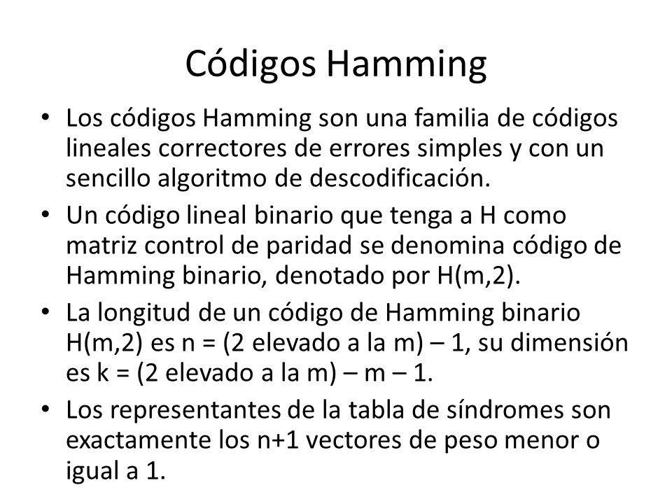 Códigos Hamming