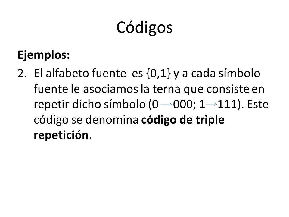 Códigos Ejemplos: