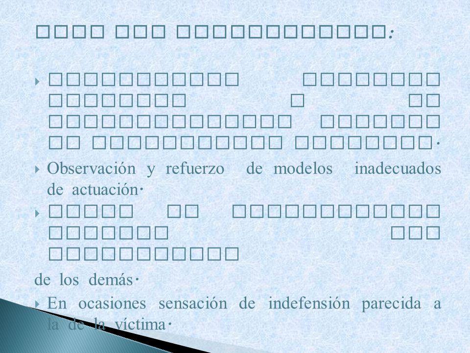PARA LOS ESPECTADORES: