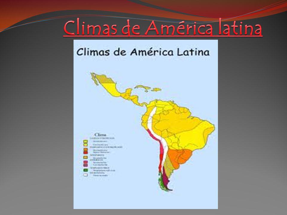Climas de América latina