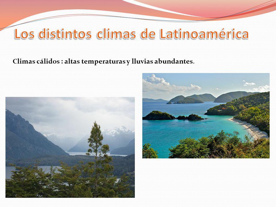 Los distintos climas de Latinoamérica