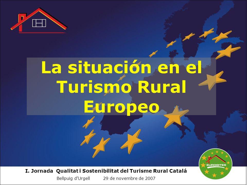 La situación en el Turismo Rural Europeo