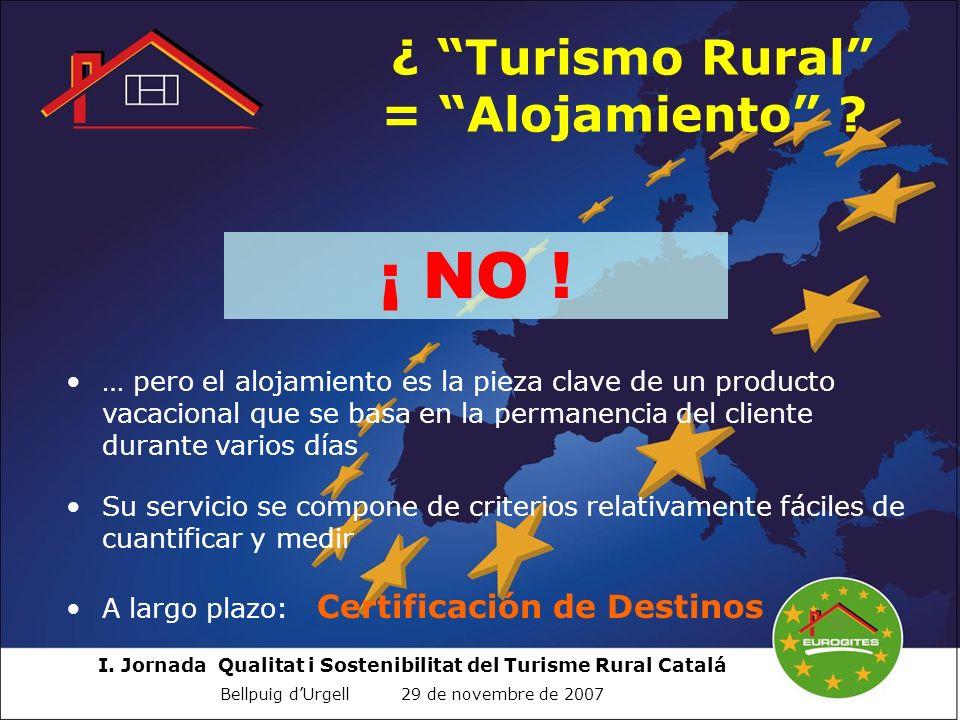 ¿ Turismo Rural = Alojamiento