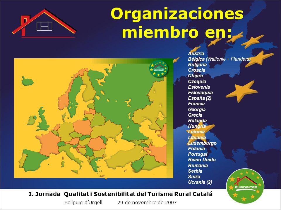 Organizaciones miembro en: