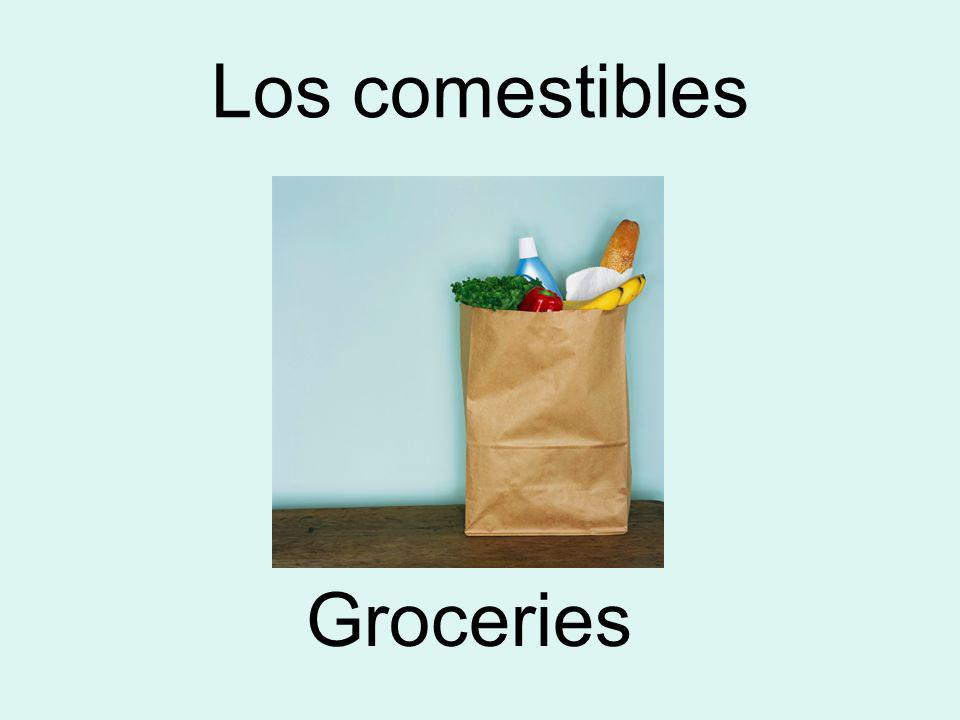 Los comestibles Groceries