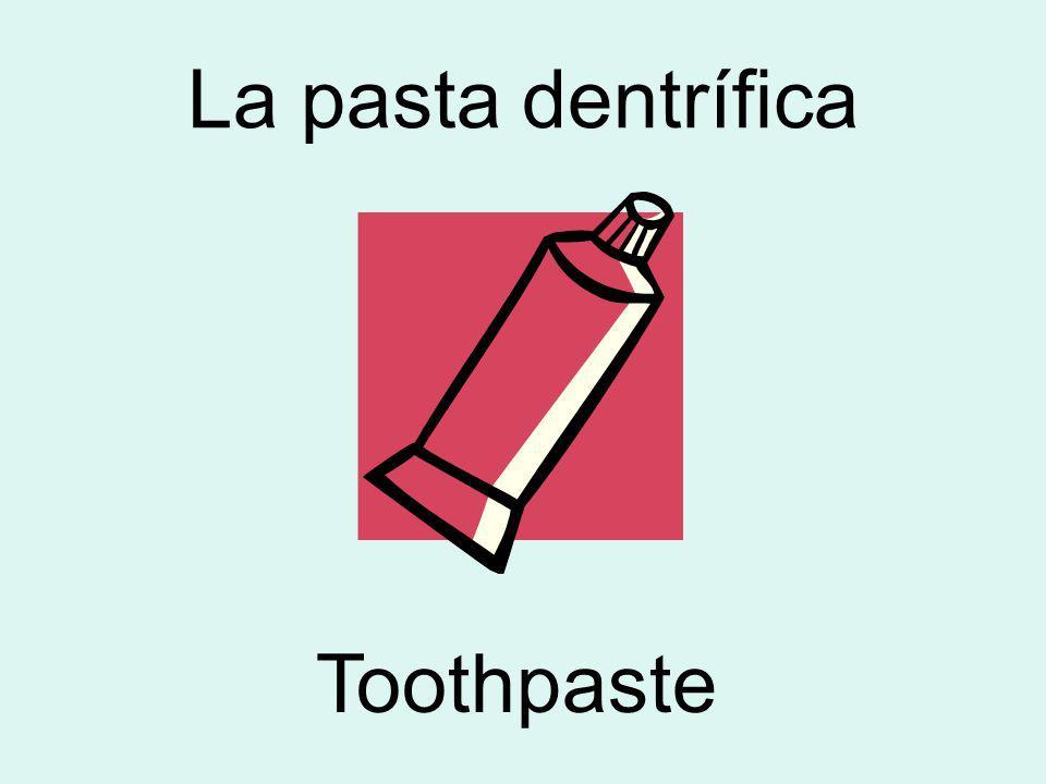 La pasta dentrífica Toothpaste