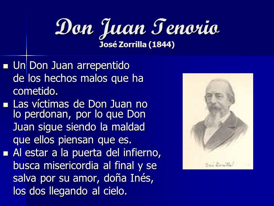 Don Juan Tenorio José Zorrilla (1844)
