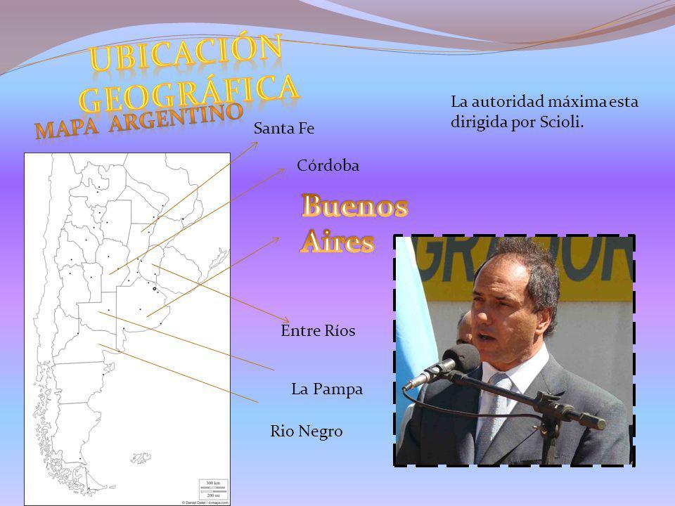 UBICACIÓN geográfica Buenos Aires Mapa Argentino