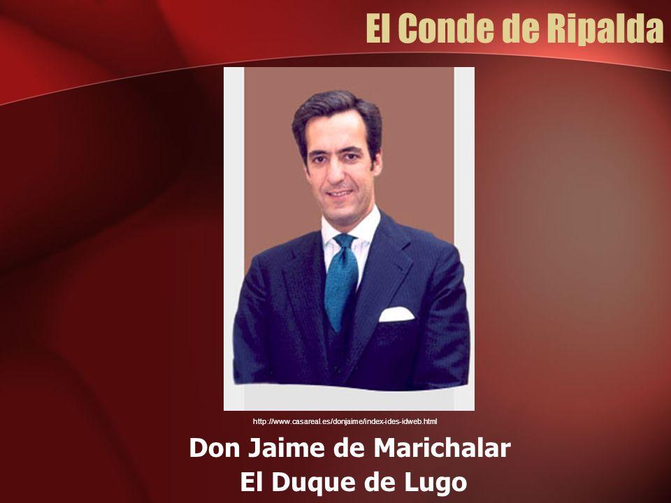 Don Jaime de Marichalar
