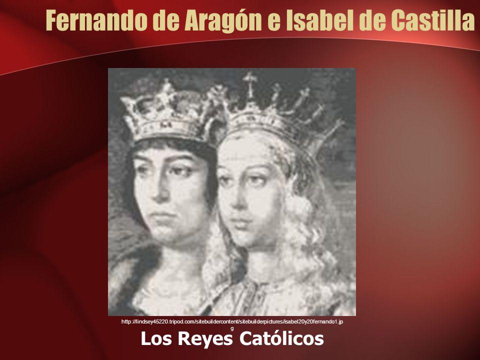Fernando de Aragón e Isabel de Castilla