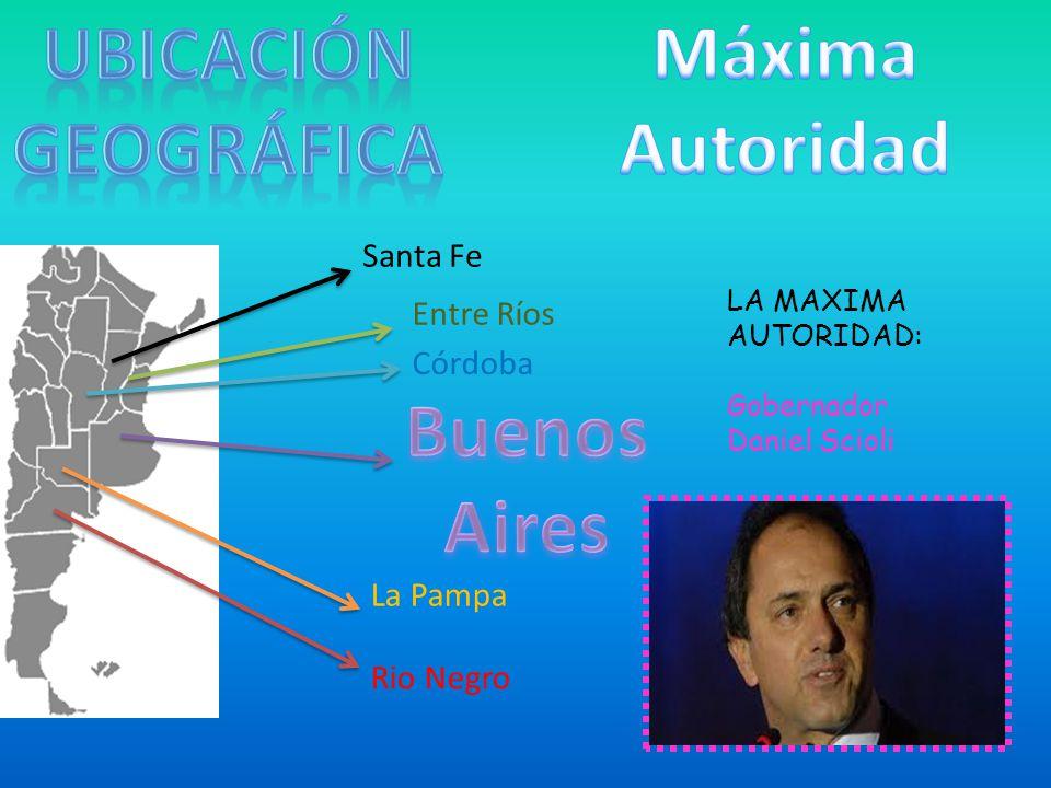 UBICACIÓN GEOGRáFICA Máxima Autoridad Buenos Aires