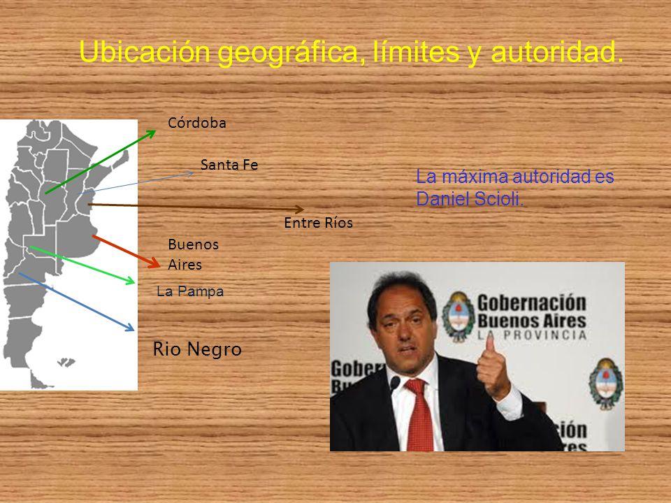 Ubicación geográfica, límites y autoridad.