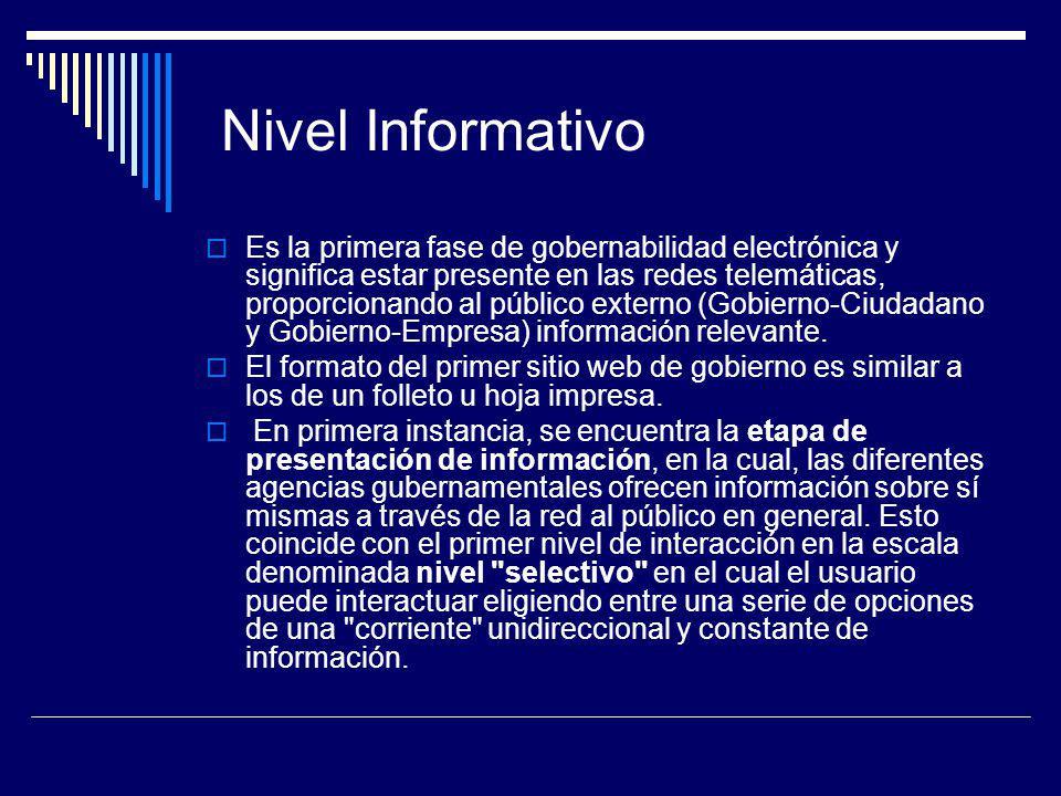 Nivel Informativo