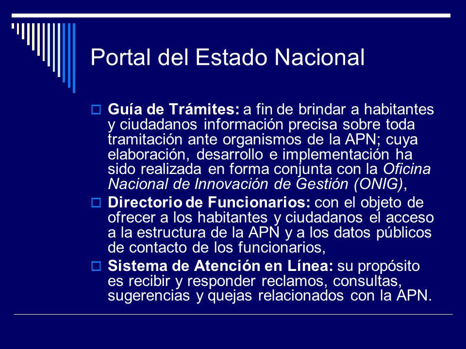 Portal del Estado Nacional