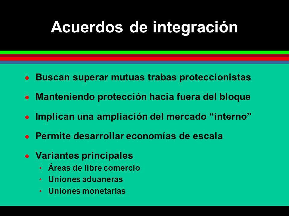 Acuerdos de integración