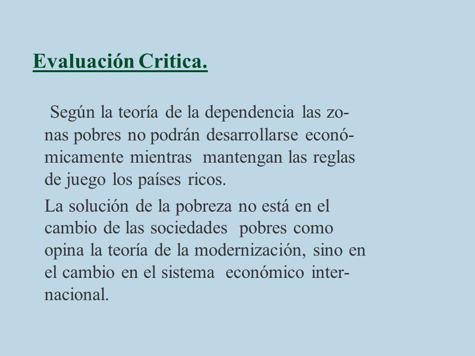 Evaluación Critica.