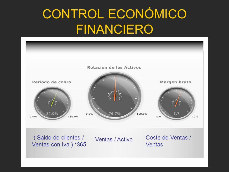 CONTROL ECONÓMICO FINANCIERO