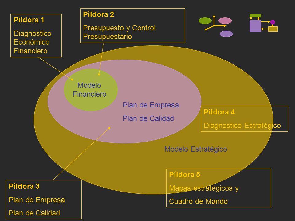 Píldora 2 Presupuesto y Control Presupuestario. Píldora 1. Diagnostico Económico Financiero. Modelo.