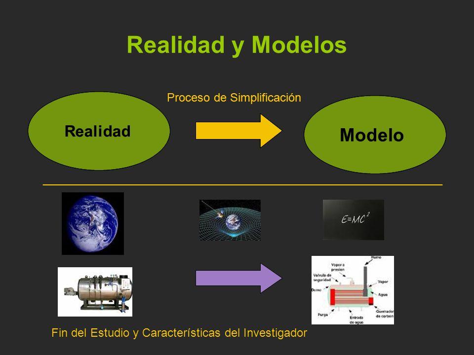 Realidad y Modelos Fin del Estudio y Características del Investigador