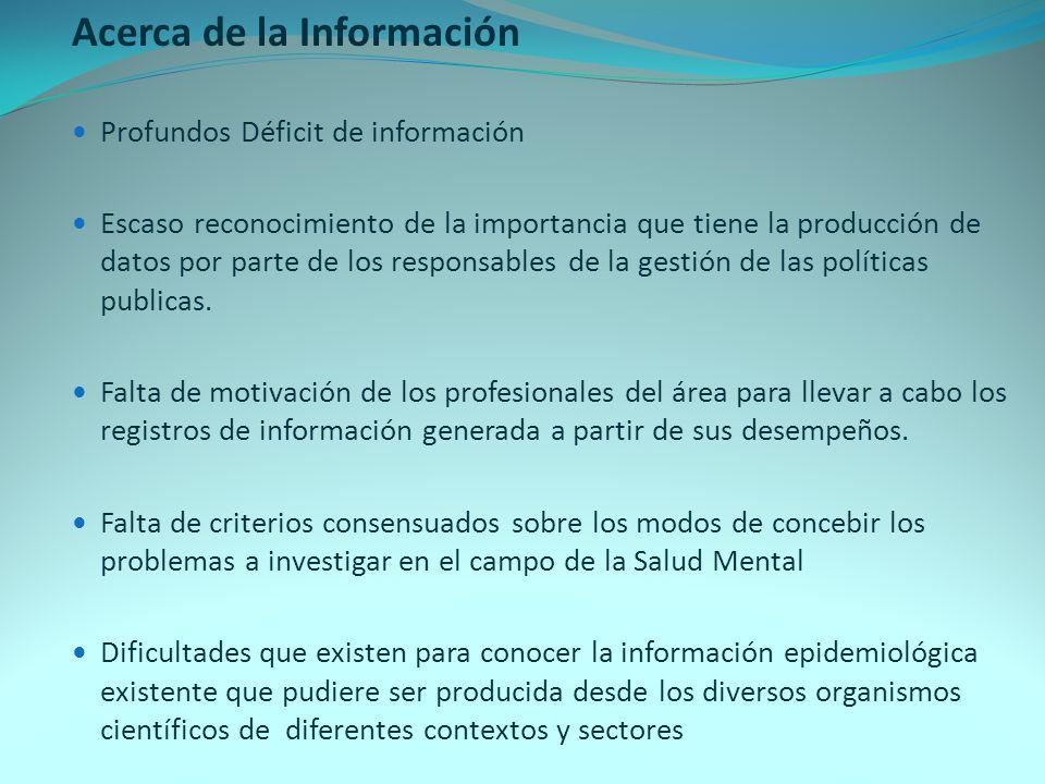 Acerca de la Información
