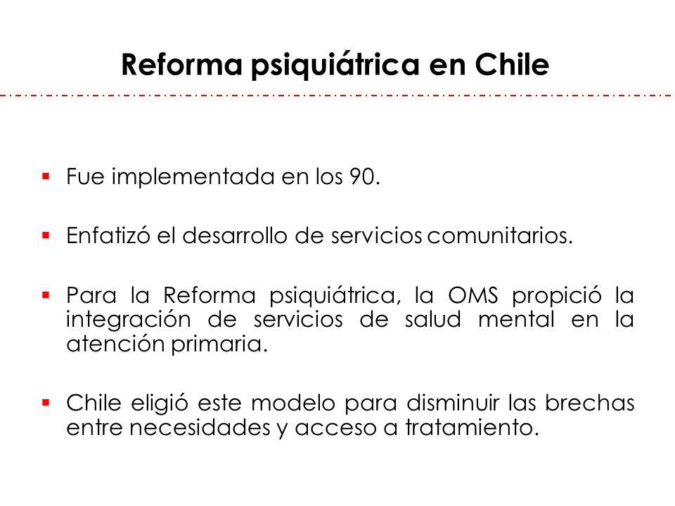 Reforma psiquiátrica en Chile