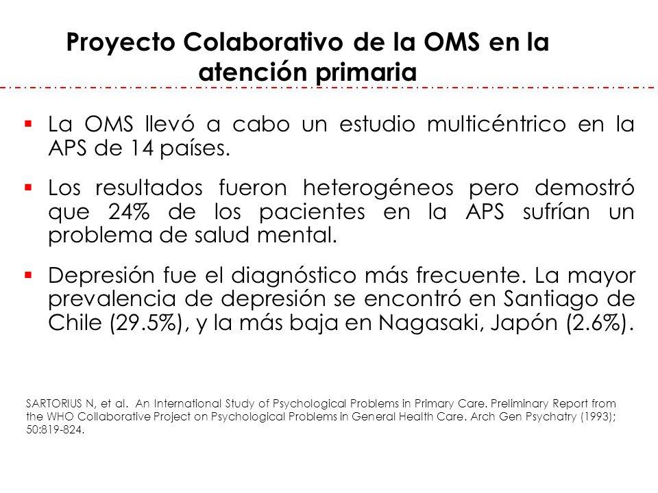 Proyecto Colaborativo de la OMS en la atención primaria