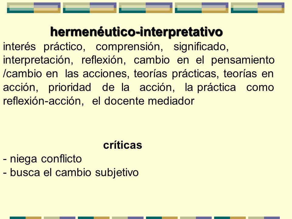 hermenéutico-interpretativo