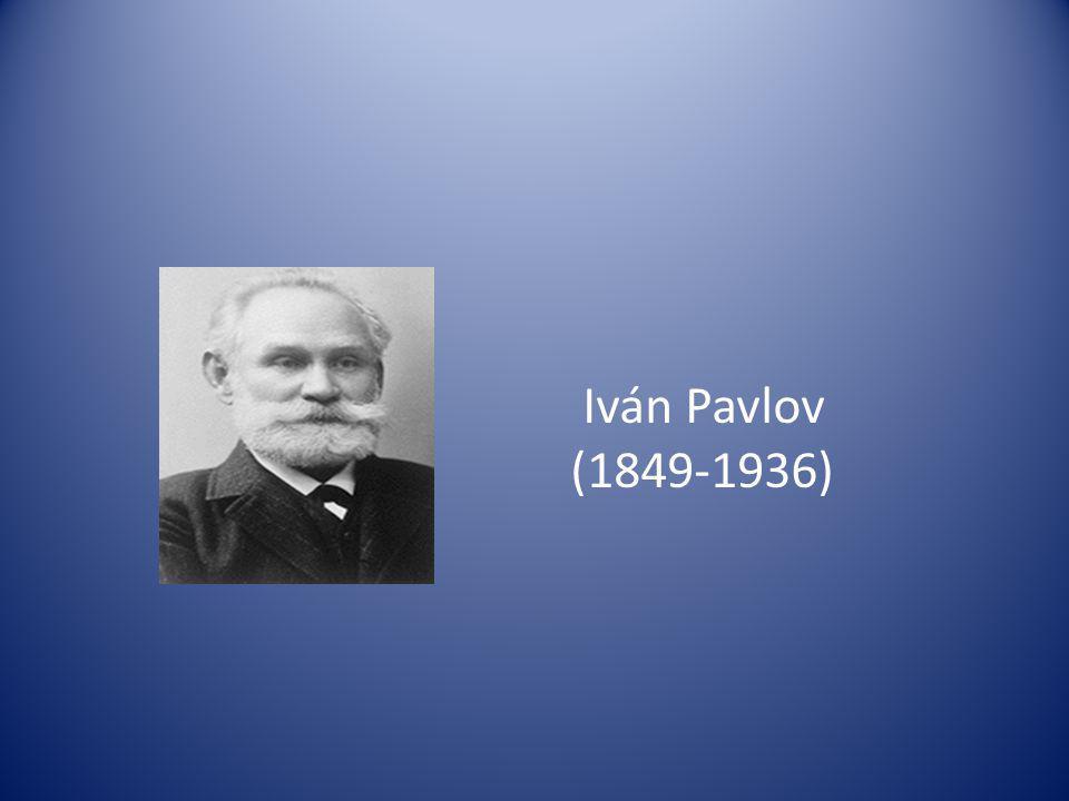 Iván Pavlov (1849-1936)