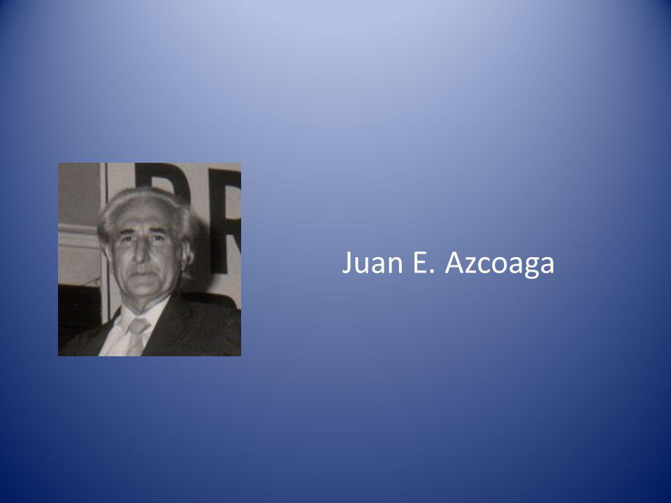 Juan E. Azcoaga