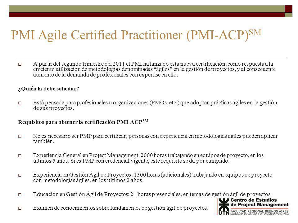 PMI Agile Certified Practitioner (PMI-ACP)SM