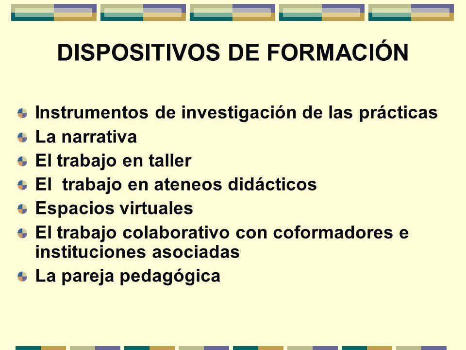 DISPOSITIVOS DE FORMACIÓN