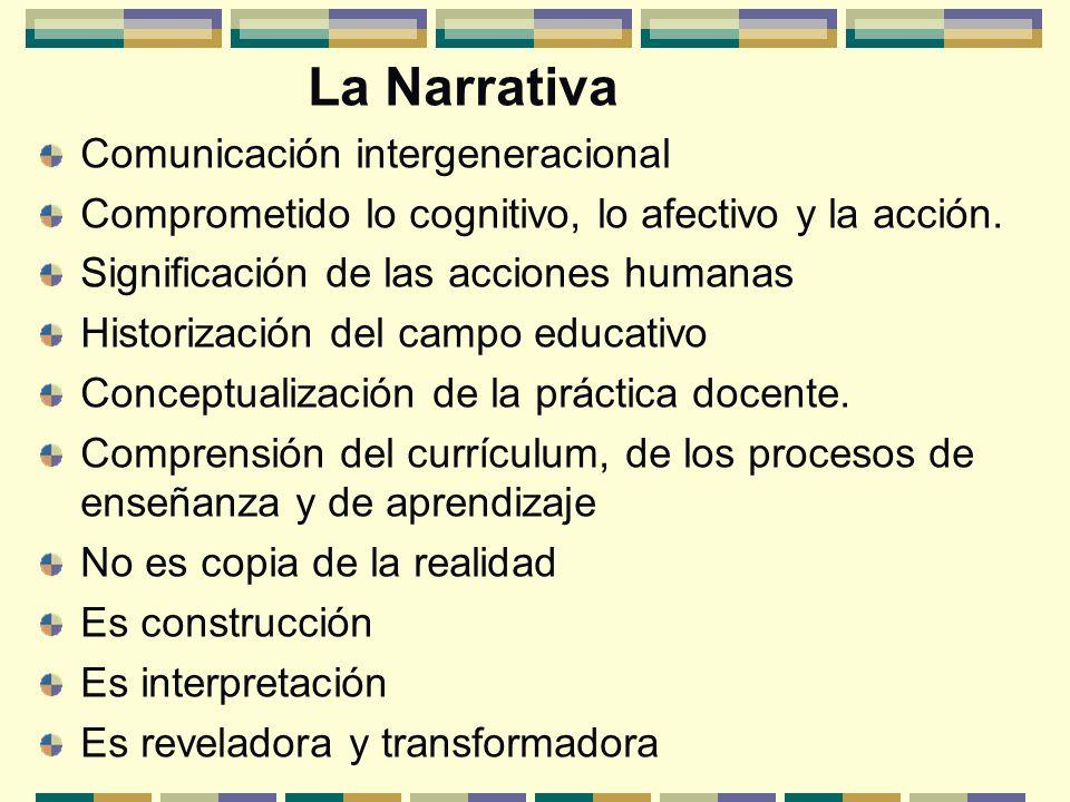 La Narrativa Comunicación intergeneracional