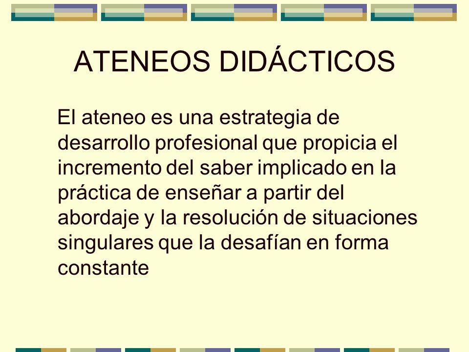 ATENEOS DIDÁCTICOS