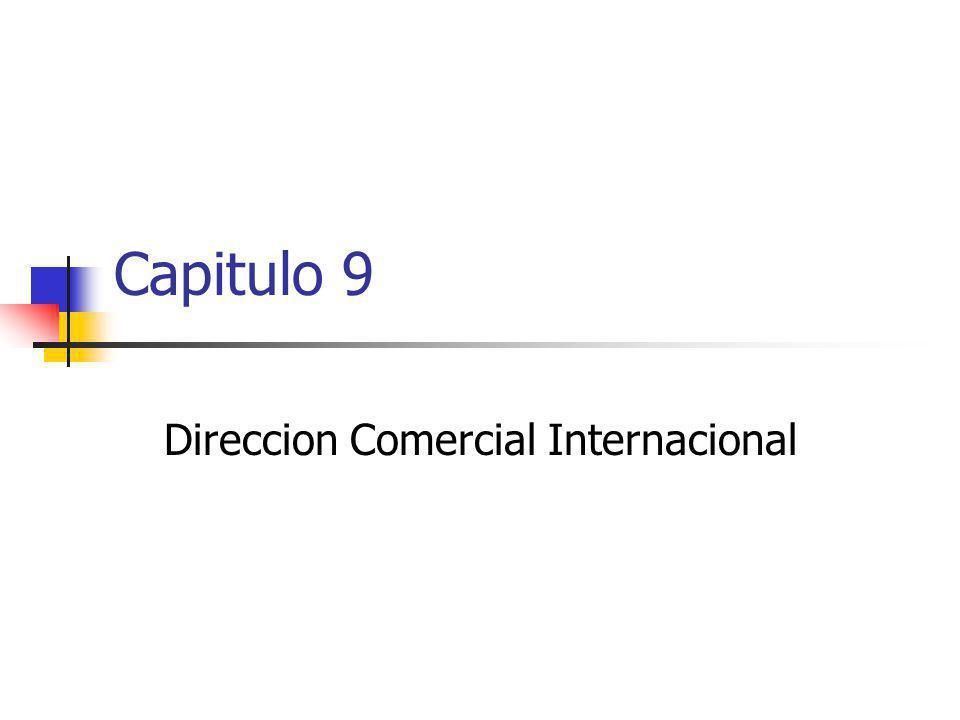 Direccion Comercial Internacional