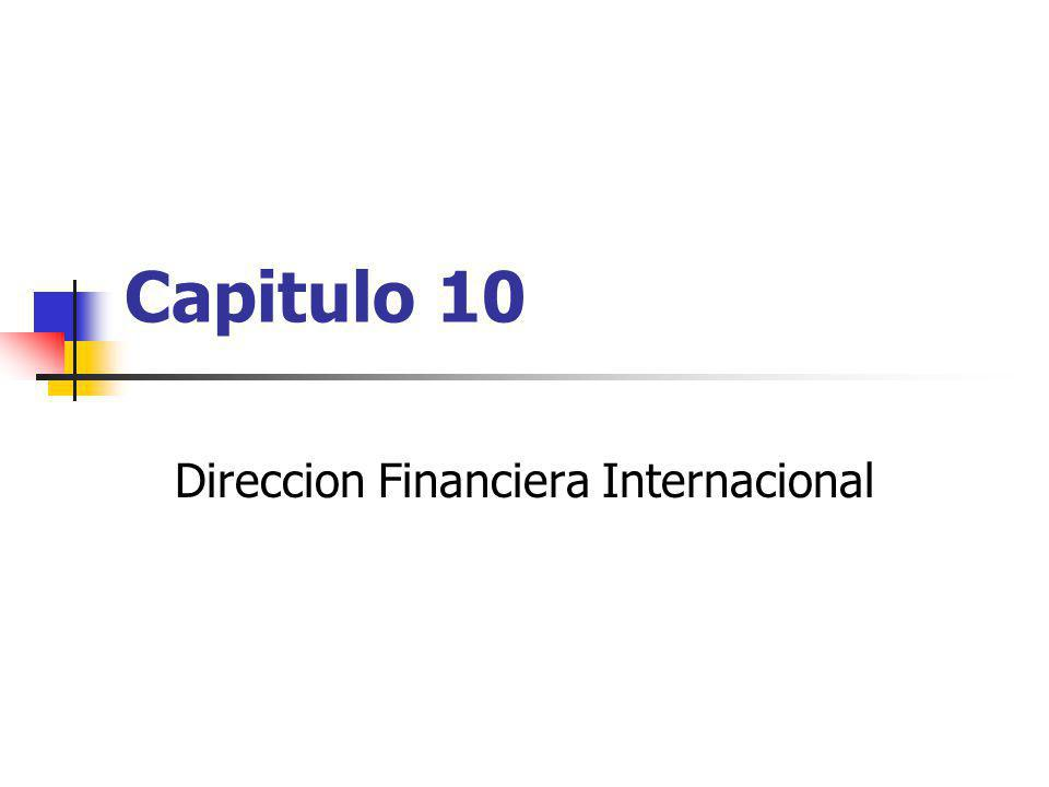 Direccion Financiera Internacional