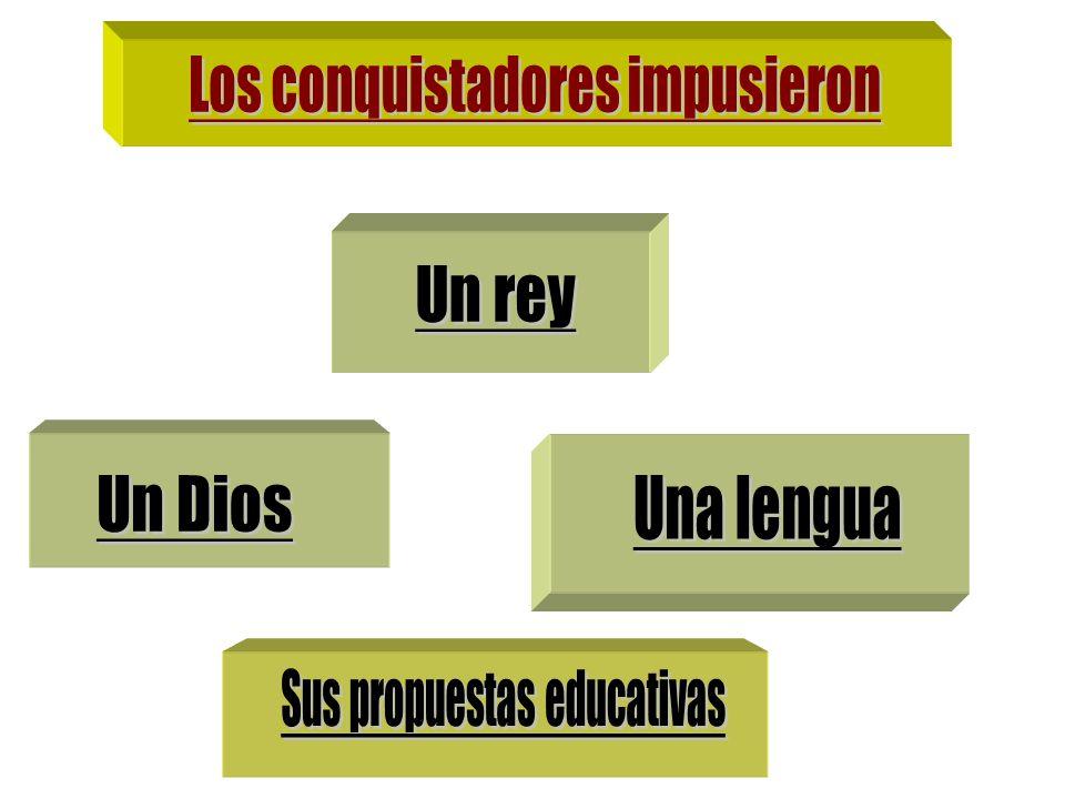 Los conquistadores impusieron