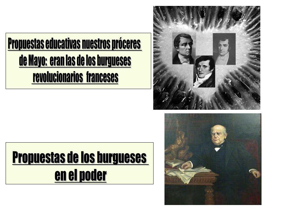 Propuestas educativas nuestros próceres