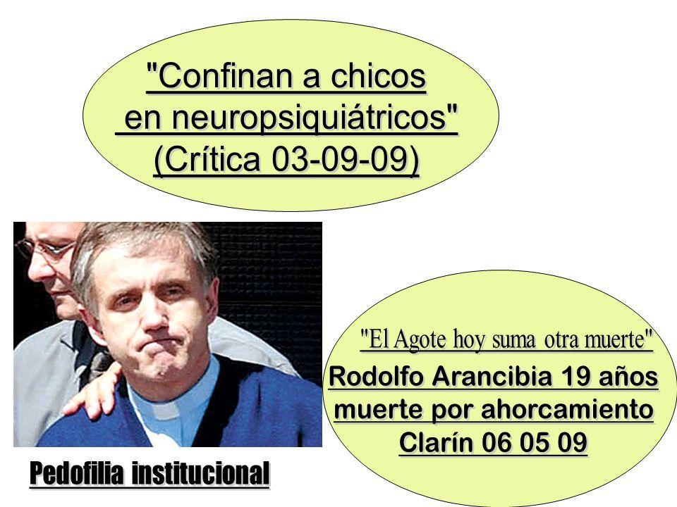 en neuropsiquiátricos (Crítica 03-09-09)