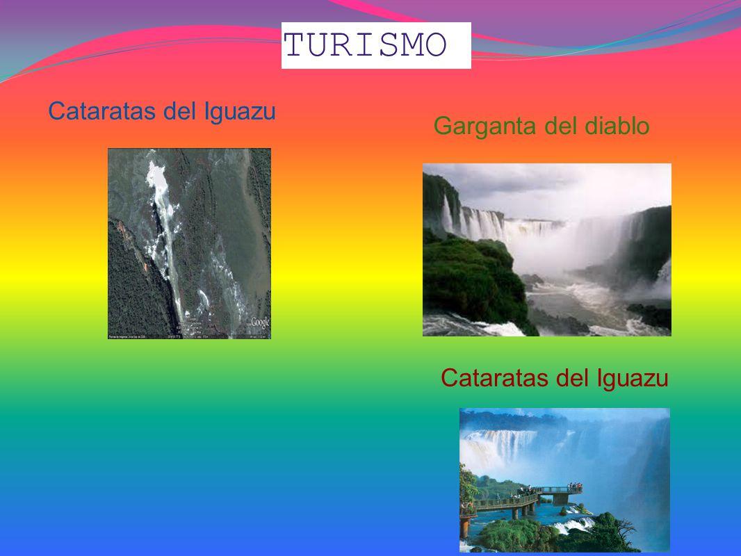 TURISMO Cataratas del Iguazu Garganta del diablo Cataratas del Iguazu