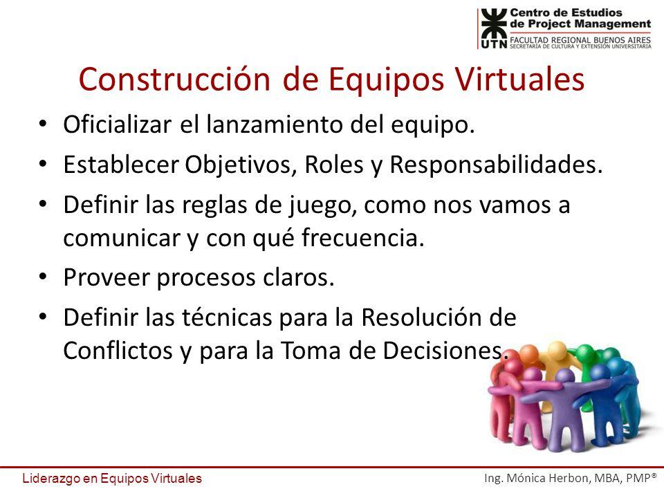 Construcción de Equipos Virtuales