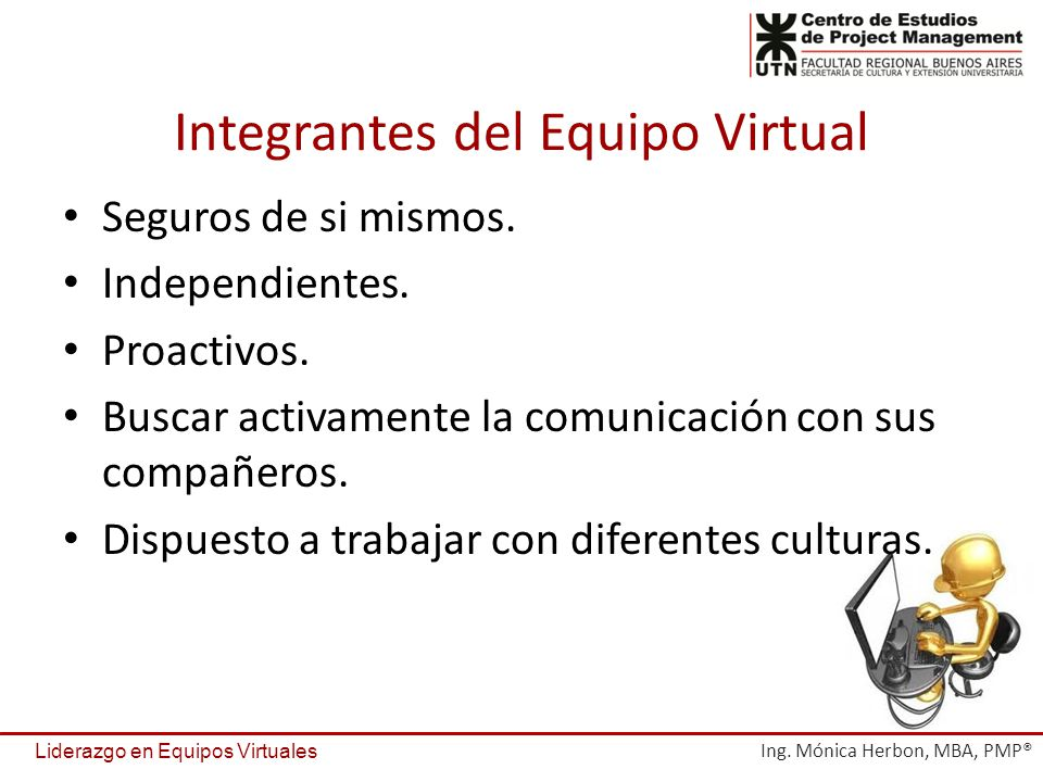 Integrantes del Equipo Virtual