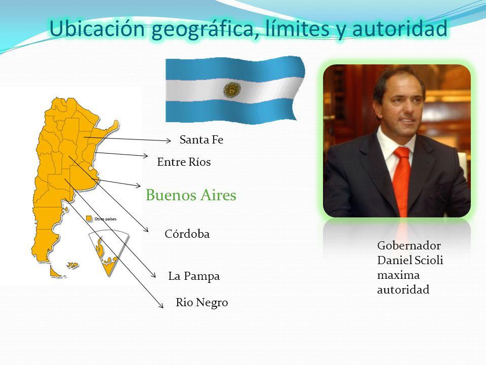 Ubicación geográfica, límites y autoridad