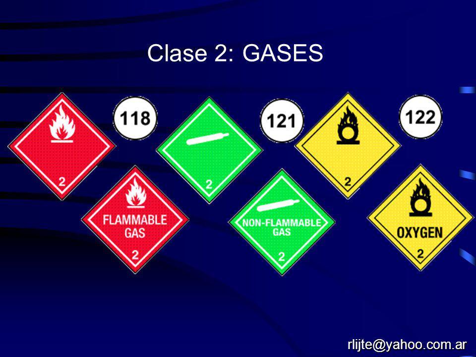 Clase 2: GASES rlijte@yahoo.com.ar