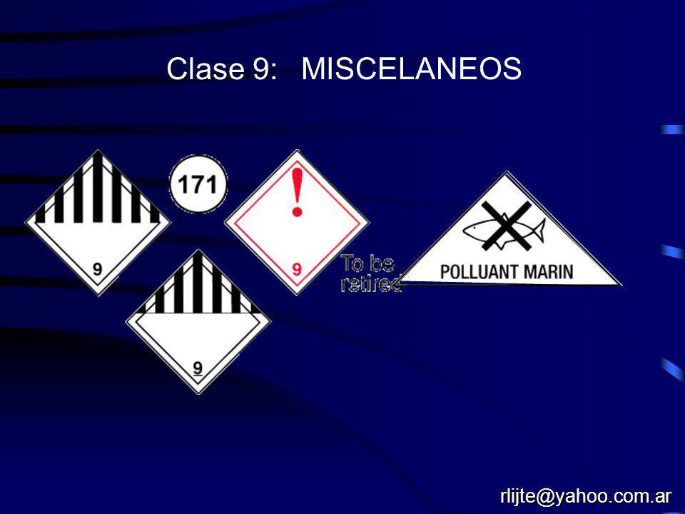 Clase 9: MISCELANEOS rlijte@yahoo.com.ar