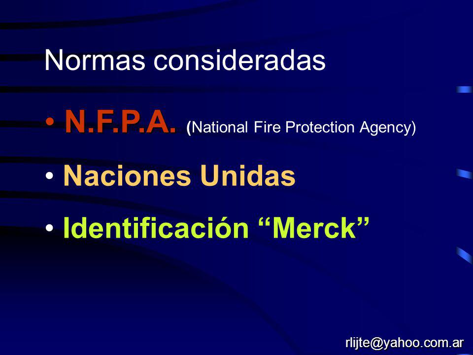 N.F.P.A. (National Fire Protection Agency)