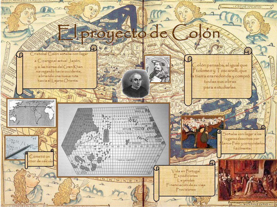 El proyecto de Colón Colón pensaba, al igual que